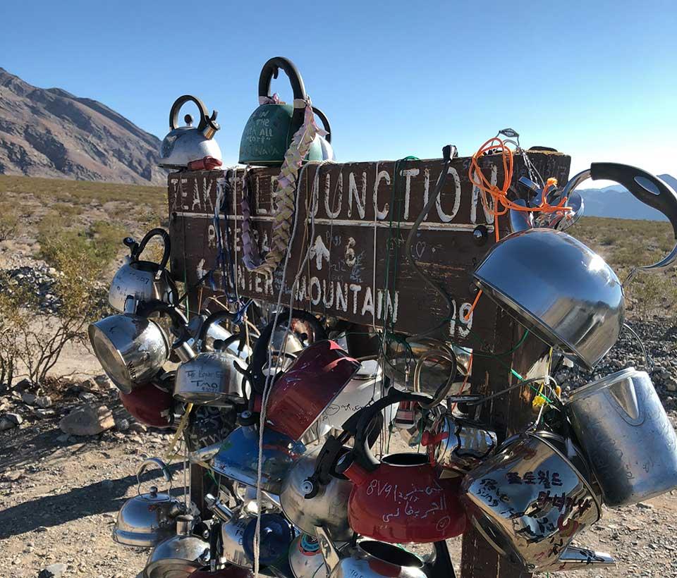 Teakettle Junction - Death Valley National Park - California Desert