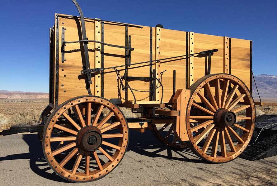 Exact Replica Borax Wagons